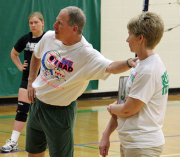 Shamrock Volleyball Camp Goes Old School We Bad New Haven Banner